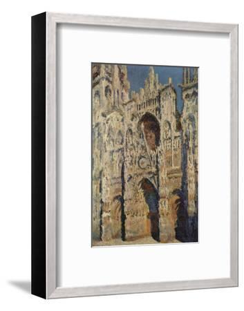 The Portal and the Tour d'Albane in the Sunlight, c.1984-Claude Monet-Framed Art Print