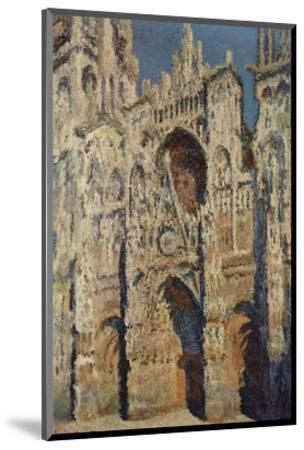 The Portal and the Tour d'Albane in the Sunlight, c.1984-Claude Monet-Mounted Art Print