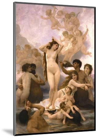 The Birth of Venus-William Adolphe Bouguereau-Mounted Art Print