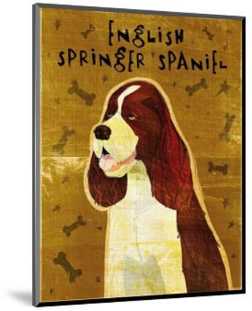 English Springer Spaniel-John Golden-Mounted Art Print