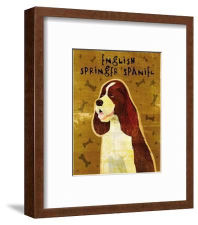 English Springer Spaniel-John Golden-Framed Art Print