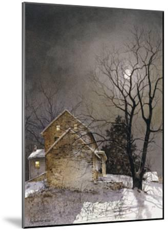 Working Late-Ray Hendershot-Mounted Art Print