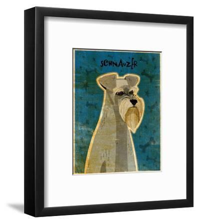 Schnauzer-John Golden-Framed Art Print