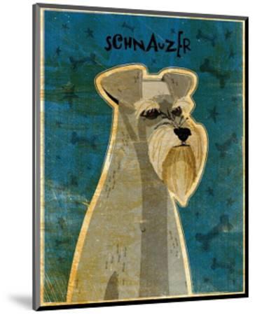 Schnauzer-John Golden-Mounted Art Print