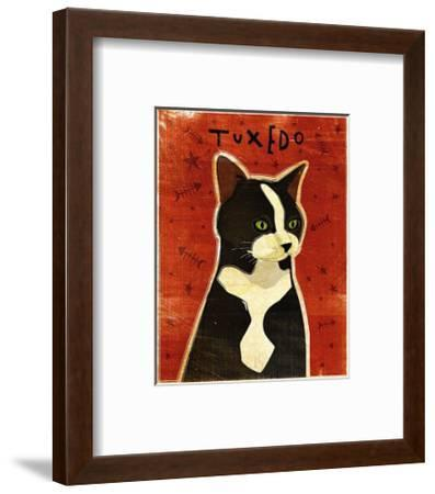 Tuxedo-John Golden-Framed Art Print