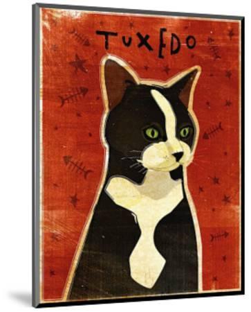 Tuxedo-John Golden-Mounted Art Print