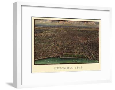Chicago 1916-Reincke-Framed Art Print
