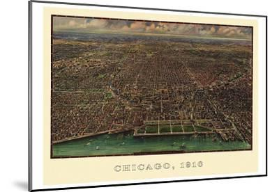 Chicago 1916-Reincke-Mounted Art Print