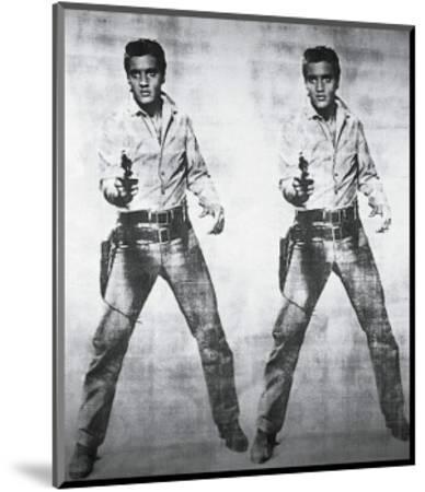 Elvis, 1963-Andy Warhol-Mounted Art Print