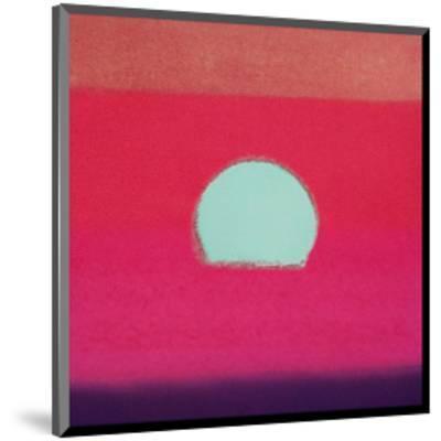 Sunset, c.1972 40/40 (fuchsia)-Andy Warhol-Mounted Art Print