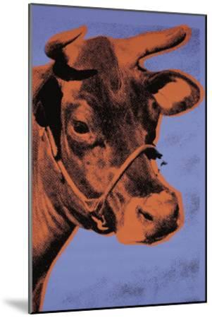 Cow, c.1971 (Purple and Orange)-Andy Warhol-Mounted Art Print