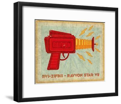 Rayvon Star VII-John Golden-Framed Art Print