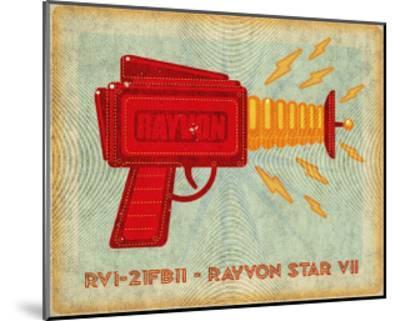 Rayvon Star VII-John Golden-Mounted Art Print