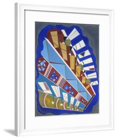 Untitled-Wassily Kandinsky-Framed Collectable Print