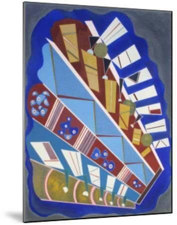 Untitled-Wassily Kandinsky-Mounted Collectable Print