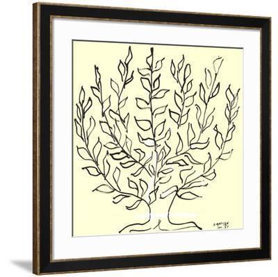 Le Buisson-Henri Matisse-Framed Serigraph