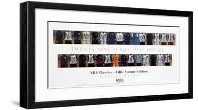 Twenty-Nine Teams-One Dream (Lg)-Dwight Baird-Framed Art Print