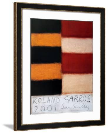 Roland Garros, 2001-Sean Scully-Framed Collectable Print
