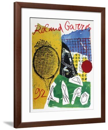 Roland Garros, 1992-Jan Voss-Framed Collectable Print