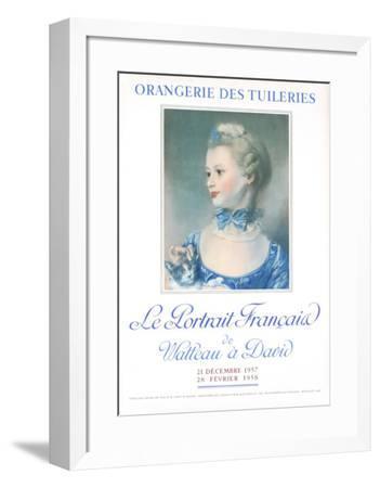 Le Portrait Francais-Henri Fantin-Latour-Framed Art Print