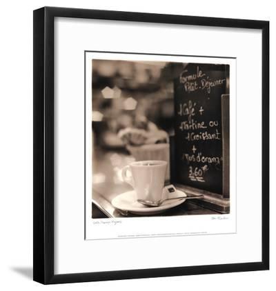 Café, Champs-Élysées-Alan Blaustein-Framed Art Print