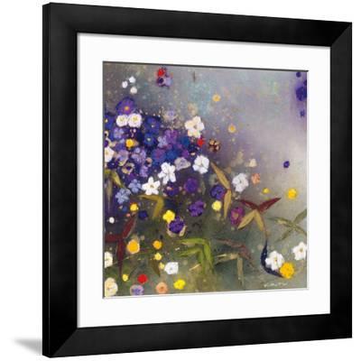 Gardens in the Mist IX-Aleah Koury-Framed Art Print