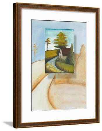 Far and Beyond III-A. Gasser-Framed Art Print