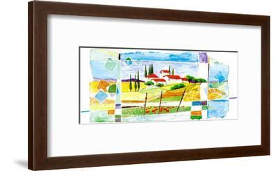 Italian Views II-C. Laffitte-Framed Art Print