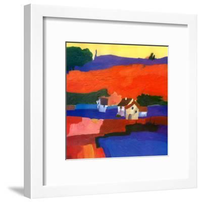 Highlanders IV-D. Spencer-Framed Art Print