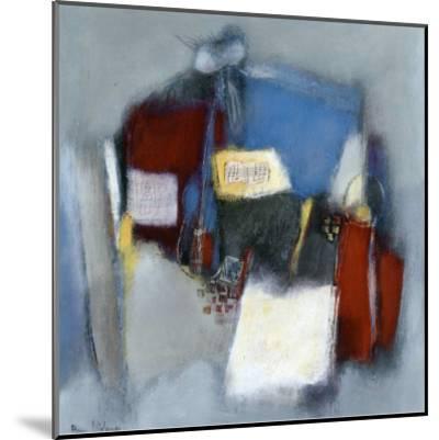 Les Musiciens-Anne Virlange-Mounted Art Print