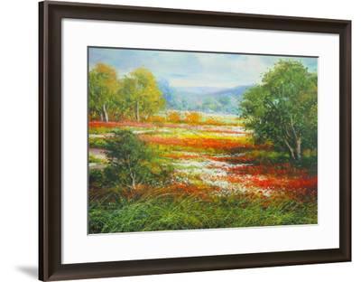 Springtime in Provence-Cazzaniga-Framed Art Print