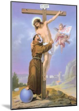 Christ--Mounted Art Print