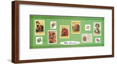 My Garden--Framed Art Print
