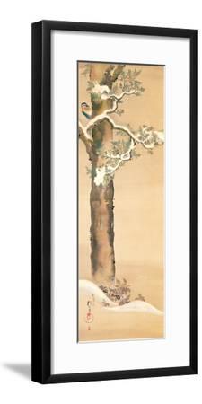 December-Sakai Hoitsu-Framed Giclee Print