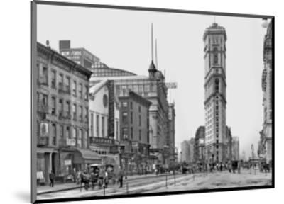Times Square, c.1904--Mounted Art Print