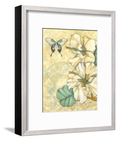 Small Hibiscus Medley I-Jennifer Goldberger-Framed Art Print