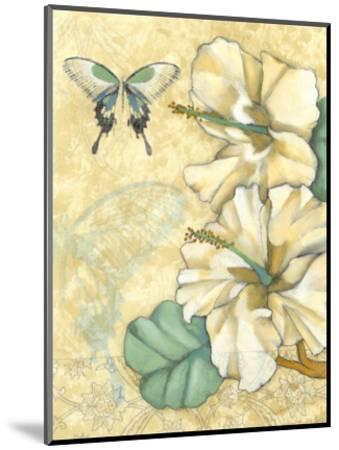 Small Hibiscus Medley I-Jennifer Goldberger-Mounted Art Print