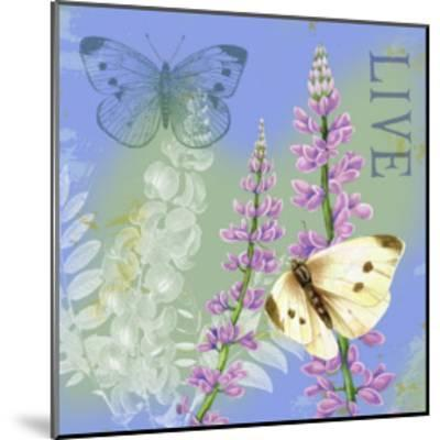 Butterflies Inspire I-Jane Maday-Mounted Art Print