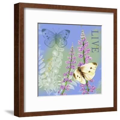Butterflies Inspire I-Jane Maday-Framed Art Print