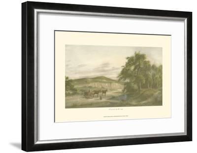 A Gossip By the Way-Henry Walker-Framed Art Print