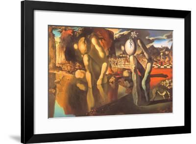 Metamorphosis of Narcissus, 1937-Salvador Dal?-Framed Art Print
