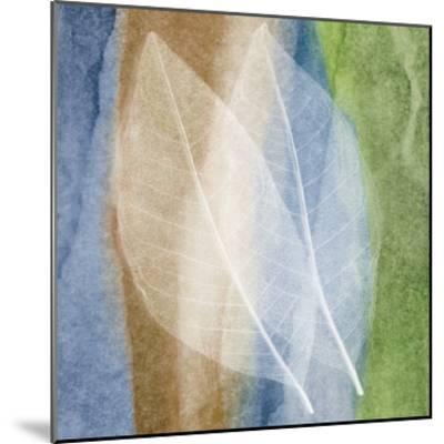 Leaf Structure I-John Rehner-Mounted Art Print