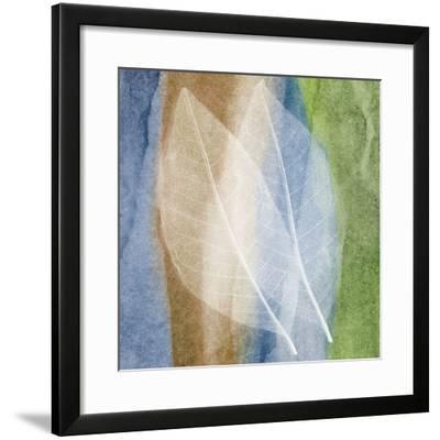 Leaf Structure I-John Rehner-Framed Art Print