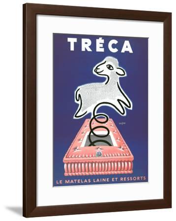 Treca-Raymond Savignac-Framed Art Print