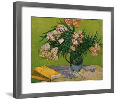 Still Life with Oleander-Vincent van Gogh-Framed Giclee Print
