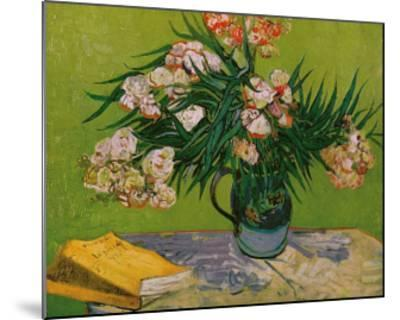 Still Life with Oleander-Vincent van Gogh-Mounted Giclee Print