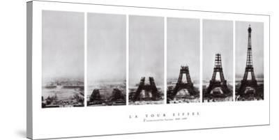 Tour Eiffel--Stretched Canvas Print