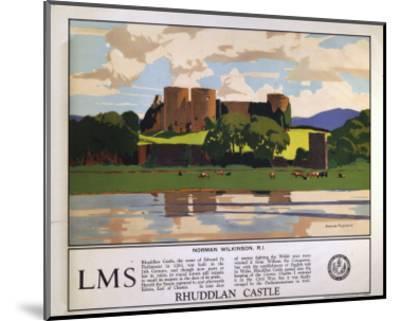 Rhuddlan Castle--Mounted Art Print