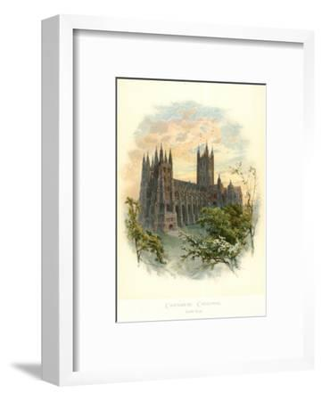 Canterbury Cathedral, South West-Arthur Wilde Parsons-Framed Art Print