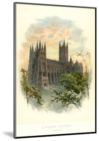 Canterbury Cathedral, South West-Arthur Wilde Parsons-Mounted Art Print